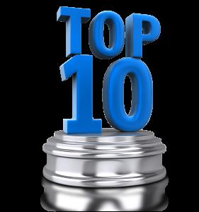 top ten blue silver